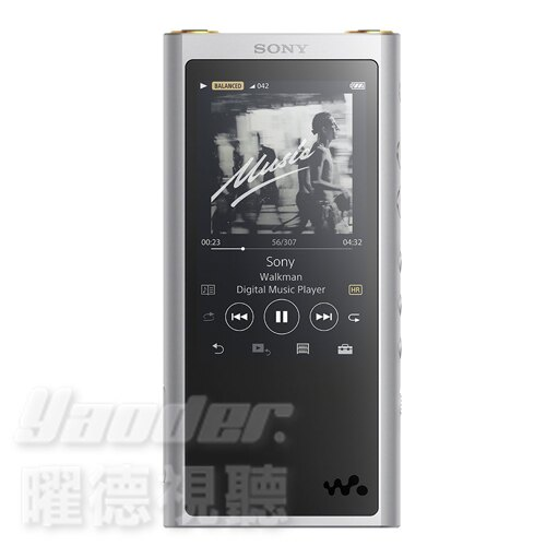 【曜德☆送收納包】SONY NW-ZX300 銀 頂級數位隨身聽 64GB 26HR續航力