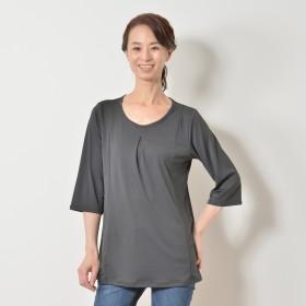 ミズノ「着る木陰」遮熱UV 七分袖プルオーバー
