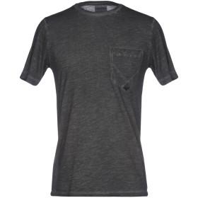 《期間限定セール開催中!》RO ROGER'S メンズ T シャツ スチールグレー S コットン 100%