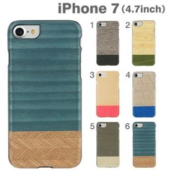iphone7 ケース iphone7ケース ケース スマホケース 木製 木 おしゃれ かわいい クール デニム iPhoneケース アイフォーン メール便 送料