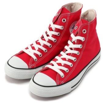 (B'2nd/ビーセカンド)CONVERSE(コンバース)CANVAS ALL STAR Hi/メンズ RED 送料無料