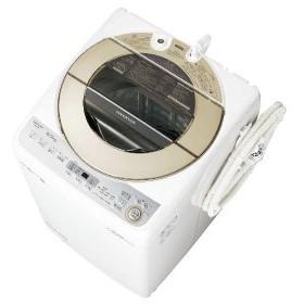 【無料長期保証】シャープ ES-GV9C-N 全自動洗濯機 (洗濯9.0kg) ゴールド系