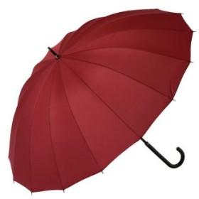 (BACKYARD FAMILY/BACKYARD FAMILY)雨に濡れると柄が浮き出る傘 ジャンプ傘 16本骨傘/レディース エンジ