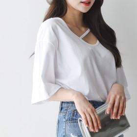 Tシャツ - LIA ANELA フロントポイントTシャツ