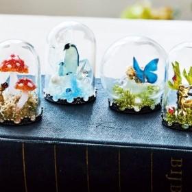 時をとじ込めた海と森の風景 UVレジンで彩る 小さなガラスドームの会 フェリシモ FELISSIMO【送料:450円+税】