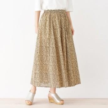 [マルイ]【セール】ボイルカラーギャザースカート/サンカンシオン(レディス)(3can4on Ladies)