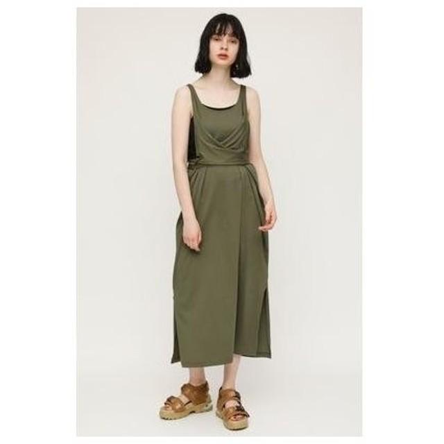 スライ SLY WAIST TIE MANY WAY CUT DRESS (カーキ)