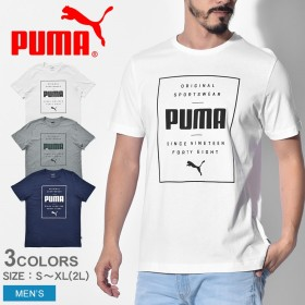 PUMA プーマ 半袖Tシャツ BOX PUMA S/STシャツ 854076 メンズ Tシャツ カットソー アパレル