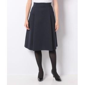 (MISS J/ミス ジェイ)AMOSSA ミラノリブ ニットスカート/レディース ネイビー 送料無料