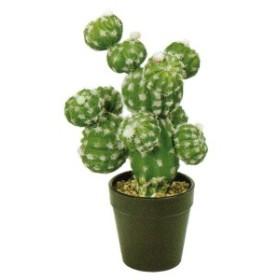 人工観葉植物 サボテンポッドA 高さ27cm fz7870 (代引き不可) インテリアグリーン 造花