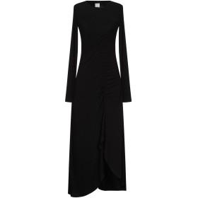 《セール開催中》PINKO レディース 7分丈ワンピース・ドレス ブラック XS レーヨン 94% / ポリウレタン 6%