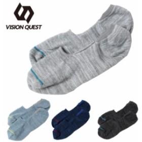 ビジョンクエスト VISION QUEST   アンクルソックス メンズ カバー 靴下 1足組 VQ430104I02  sw