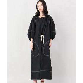 VERMEIL par iena LEE MATHEWS ワンピース(ドレス) ブラック フリー