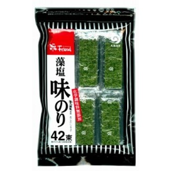丸徳 藻塩味のり42束 12切5枚42束 まとめ買い(×12) 4902799003018(tc)