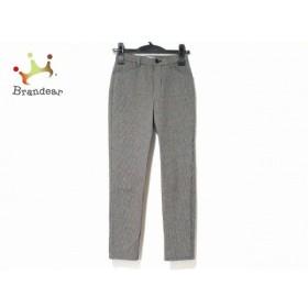 ビースリー B3 B-THREE パンツ サイズ28 L レディース 白×黒 千鳥格子   スペシャル特価 20191015