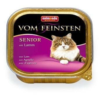 アニモンダ フォムファインステン シニア 鶏肉・牛肉・豚肉・子羊肉  100g入り パテタイプ 老猫用 | cat visions