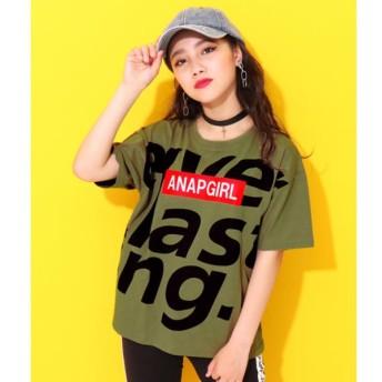 [マルイ]【セール】メッセージBOXロゴTシャツ/アナップキッズ&ガール(ANAP KIDS&GIRL)