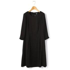 KEITH / キース バックサテンジョーゼット ドレス
