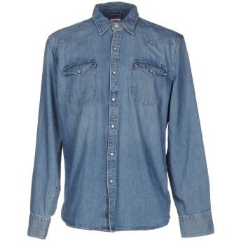 《期間限定 セール開催中》LEVI'S RED TAB メンズ デニムシャツ ブルー L コットン 100%