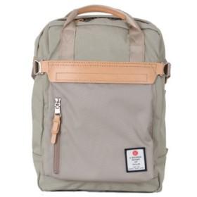 (Bag & Luggage SELECTION/カバンのセレクション)アッソブ リュック メンズ レディース ブランド ミニ 小さめ AS2OV HI DENSITY CORDURA NYLON 091406/ユニセックス ベージュ