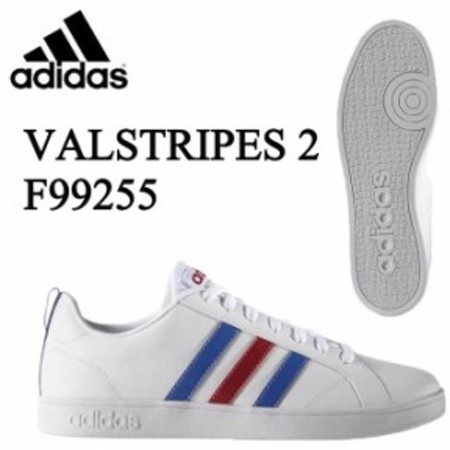 c6e6596e1dec93 アディダス メンズ レディース スニーカー VALSTRIPES 2 F99255 バルストライプス カジュアル シューズ 靴 通学 run