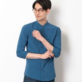 [マルイ]【セール】バンドカラー7分袖シャツ/メンズメルローズ(MEN'S MELROSE)