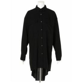 SLY バックタックオーバーシャツ ブラック