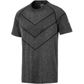 【プーマ公式通販】 プーマ REACTIVE evoKNIT SS トレーニング Tシャツ (半袖) メンズ Puma Black Heather |PUMA.com