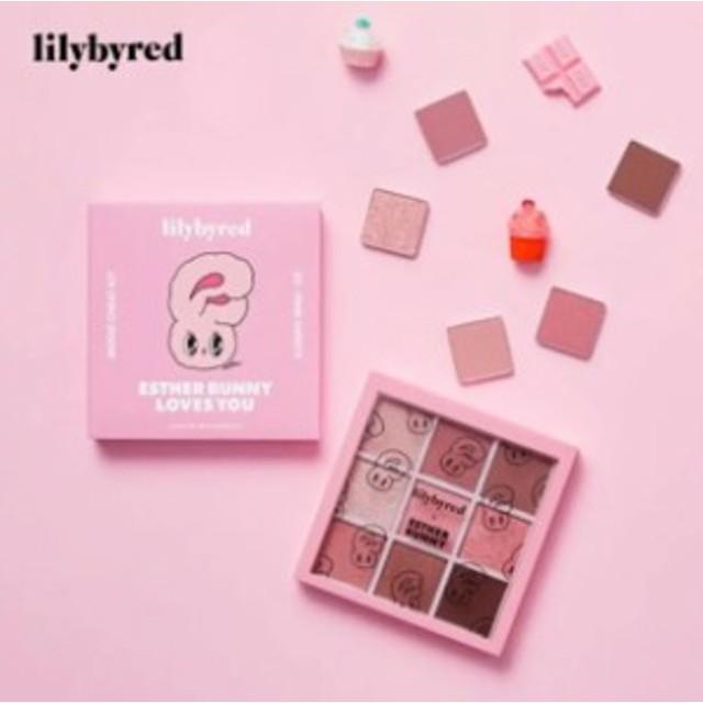 リリーバイレッド lilybyred エスターバニー コラボ アイシャドウパレット カラー ピンクスイーツ 限定品 H1306