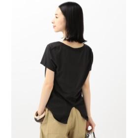 (SHIPS/シップス)SLIC SLIC: USA Tシャツ/レディース ブラック