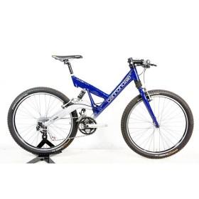 キャノンデール Cannondale スーパー V1000 SUPER V1000 DeoreXT 1994年モデル アルミ マウンテンバイク 8速 ブルー USA製