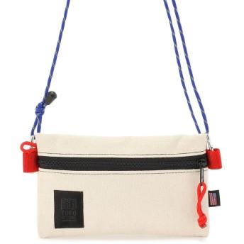 ビーバー TOPO DESIGNS/トポデザインズ ACCESSORY SHOULDER BAGS SMALL ショルダーバッグ メンズ WHITE F 【BEAVER】