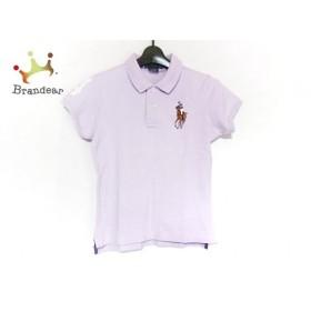 ラルフローレン RalphLauren 半袖ポロシャツ サイズS レディース 美品 ビッグポニー パープル 新着 20190711