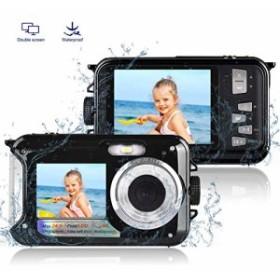 防水カメラ 水中カメラ デジタルカメラ デジカメ スポーツカメラ アクションカメラ フルHD 1080P 24.0MP ・・・
