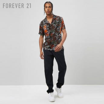 FOREVER21 フォーエバー21 【[MEN]タイガープリントシャツ】(5,000円以上購入で送料無料)