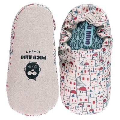 英國 POCONIDO 手工嬰兒鞋 (浪漫希臘-晝)