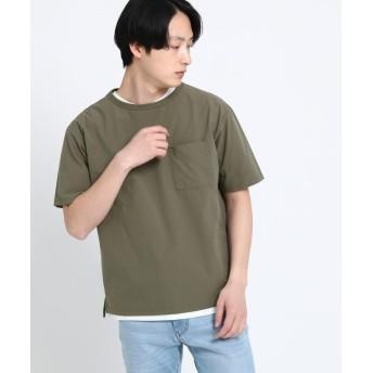 THE SHOP TK(Men)(ザ ショップ ティーケー(メンズ)) プライムフレックスビッグシルエットTシャツ
