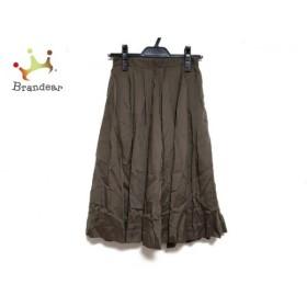 ジャスグリッティー JUSGLITTY スカート サイズ0 XS レディース 新品同様 カーキ   スペシャル特価 20191015