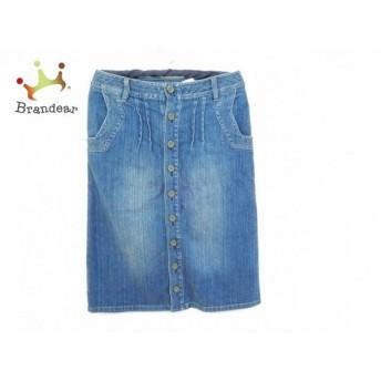 ホコモモラ JOCOMOMOLA スカート サイズ40 XL レディース ブルー デニム 新着 20190711