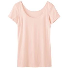 40%OFF【レディース】 汗取りパッド付 フレンチ袖 ■カラー:ソフトピンク ■サイズ:LL