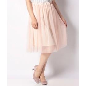 (eversince/エバーシンス)ふわふわチュールスカート eversince/レディース ピンク