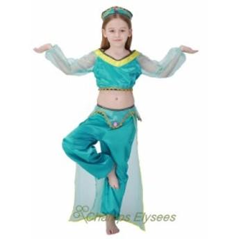 大きいサイズ コスプレ女の子ハロウィンベリーダンス衣装 コスプレ衣装 アラジン ジャスミン風 レディース パーティー 仮装S~XLコスプレ
