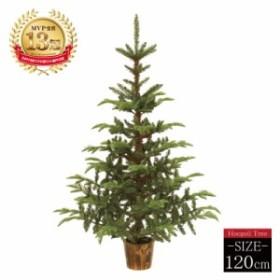 クリスマスツリー ホプシーツリー120cm おしゃれ 【高級ポットツリー】【pot】