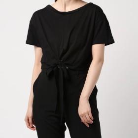 Tシャツ - G & L Style レディース 半袖 トップス カットソー シンプル カジュアル 半袖Tシャツ ツイストスタイルリボンTシャツ 6523