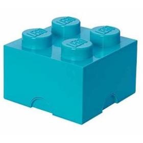 ストレージボックス ブリック 4 DIF[40031743](ミディアムアズール, 250×250×180mm)