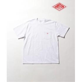 (FREDY & GLOSTER/フレディアンドグロスター)【DANTON/ダントン】ポケット付Tシャツ #JD-9041/メンズ ホワイト