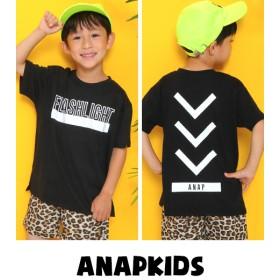 【セール開催中】ANAP KIDS(キッズ)ロゴプリントビッグTシャツ