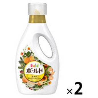 【数量限定】ボールドジェル ホワイトフラワー&アプリコットの香り 本体 750g 1セット(2個入) 洗濯洗剤 P&G