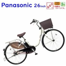パナソニック ビビ・DX BE-ELD635F2 オフホワイト 26インチ 16A 2019年 電動アシスト自転車