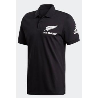 アディダス(adidas)ラグビー 半袖 Tシャツ(メンズ)オールブラックス サポーター ポロ(DY3830)2019SS